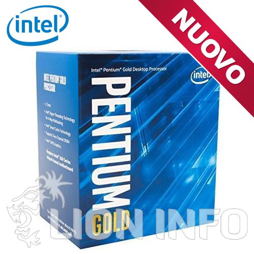 Pentium G6600 Box