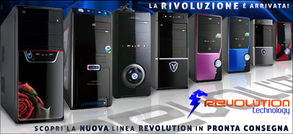 Promo Nuova Linea Revolution Technology
