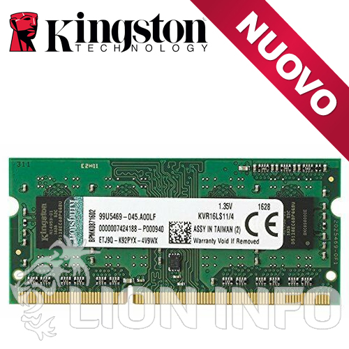 So Dim 4Gb 1600Mhz